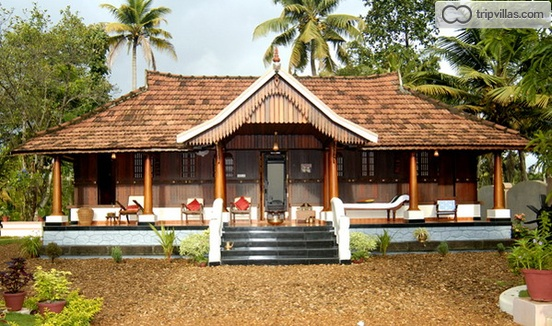Stay in a traditional kerala style house in alappuzha for Traditional house plans in india